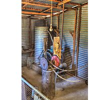The Lister, Shearing Shed to run equipment prior to electricity  Photographic Print
