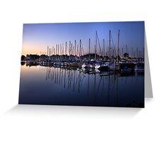 Sunrise Masts Greeting Card