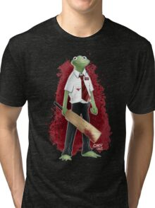 Frog of the Dead Tri-blend T-Shirt