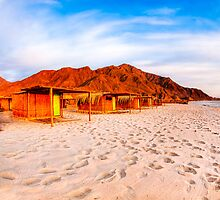Sinai Sunrise - Egypt Beach by Mark Tisdale