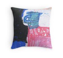 blue jug Throw Pillow