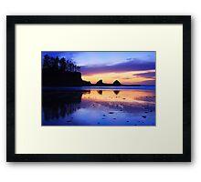 Sunset Bay - Oregon Coast Framed Print