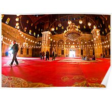 Show Me The Way - Mosque of Mohamed Ali Pasha Poster