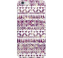Trendy Rustic Tribal Aztec Pattern iPhone Case/Skin