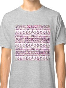 Trendy Rustic Tribal Aztec Pattern Classic T-Shirt