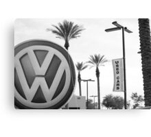 Used Wagens Canvas Print