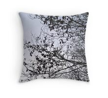 Contrasts of Nature Throw Pillow