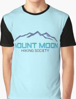 Mount Moon Hiking Society Graphic T-Shirt