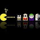 Pacman Batman by NicoWriter