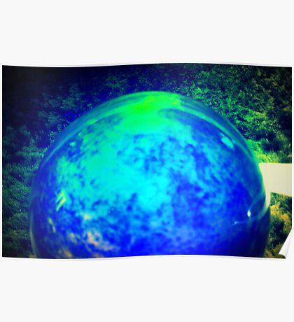 World of Green Shag Poster