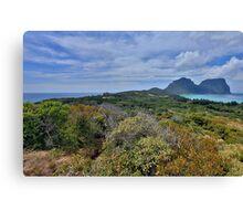 Lord Howe Island Canvas Print