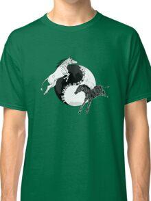 Yin Yan Horses Classic T-Shirt