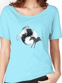 Yin Yan Horses Women's Relaxed Fit T-Shirt