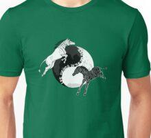 Yin Yan Horses Unisex T-Shirt