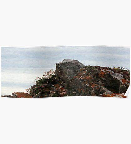 Ragged Rocks Poster