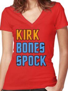 Completely Innocent Star Trek Shirt Women's Fitted V-Neck T-Shirt