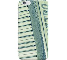Retro iphone Piano Accordian iPhone Case/Skin