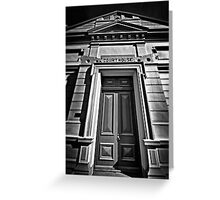The Old Court House. Greeting Card