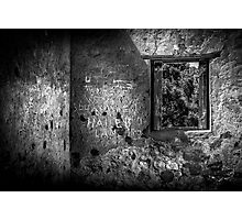 Etchings On The Wall. Photographic Print