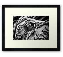 Hanging On. Framed Print