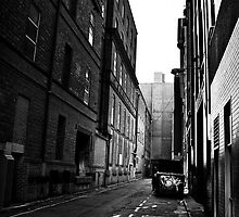 City Lane Way. by Nicholas Griffin
