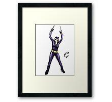 Batgirl, 2014 Framed Print