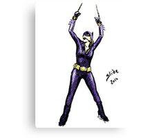 Batgirl, 2014 Canvas Print