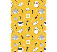Yellow breakfast Photographic Print