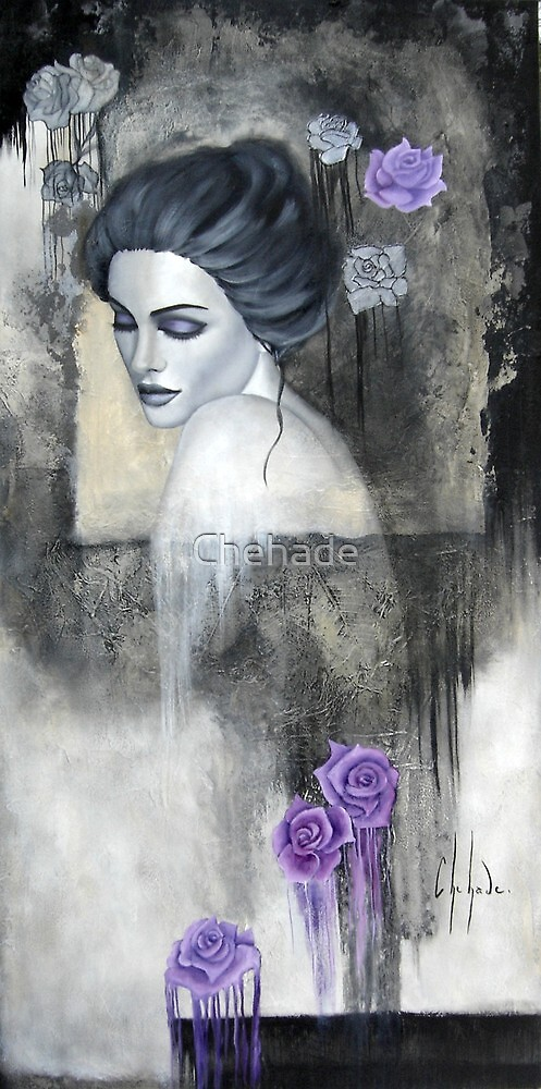 Jardin de roses by Chehade