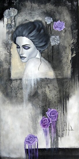 Jardin de roses by Chehade