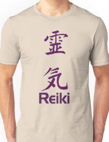 Reiki Symbol In Purple  Unisex T-Shirt
