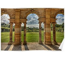 Hever Castle gardens Poster