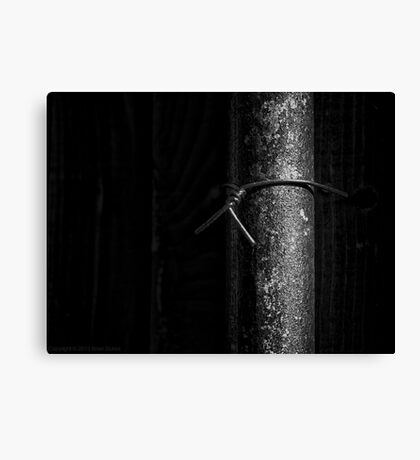 Remembering the pipe dream Canvas Print