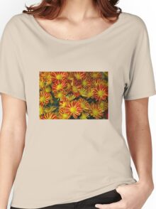 Mums - Red & Yellow Women's Relaxed Fit T-Shirt