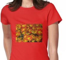 Mums - Red & Yellow Womens Fitted T-Shirt
