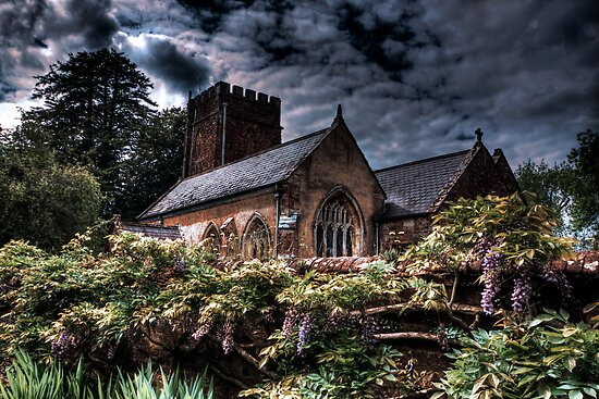 All Saints Church,  Nynehead by Dean Messenger
