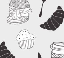 Food pattern Sticker