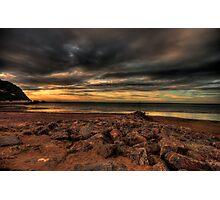 Minehead Beach Photographic Print