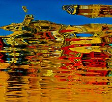 Artistic reflection by raymona pooler