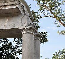 ruins colonnade by mrivserg