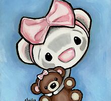 Kiss My Booboo Bear by Shelly  Mundel