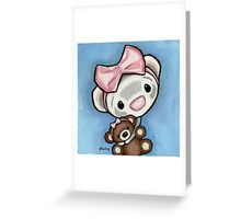 Kiss My Booboo Bear Greeting Card
