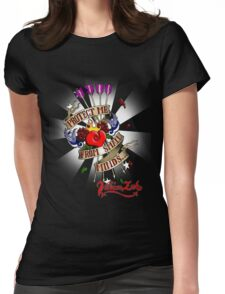 Small minds Womens Fitted T-Shirt