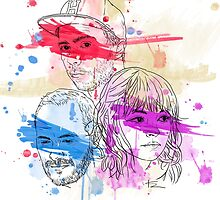 CHVRCHES ILLUSTRATION by SuperFZ