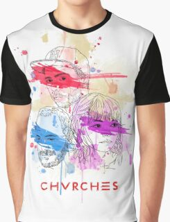 CHVRCHES ILLUSTRATION Graphic T-Shirt