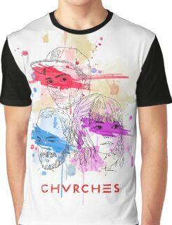 CHVRCHES ILLUSTRATION Graphic T-Shirt