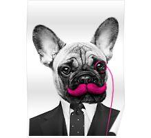 Sir Mustache Poster