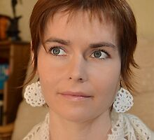 The Girl With The Crocheted Earrings by naturesmuse