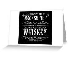 America's First Moonshiner Greeting Card
