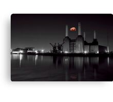 battersea Pink floyd Canvas Print